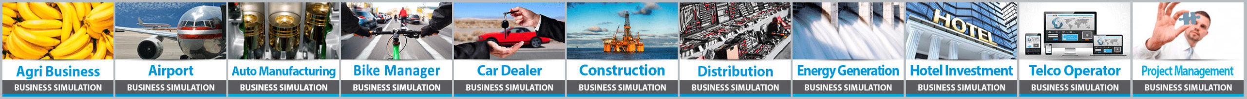 Industry Specific Business Simulations from IndustryMasters