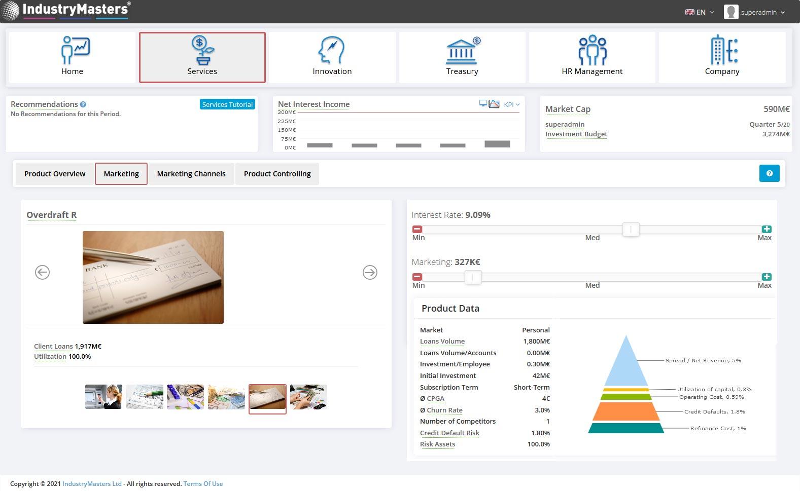 Banking Credit Product Simulation Training