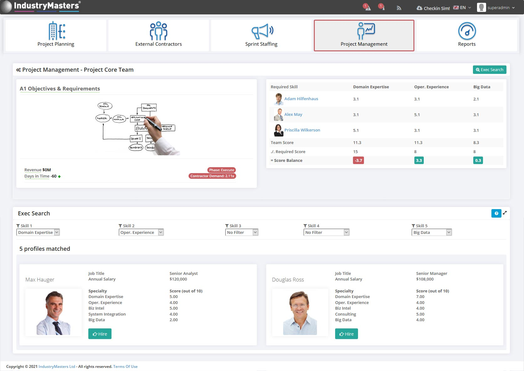 HR Management Simulation